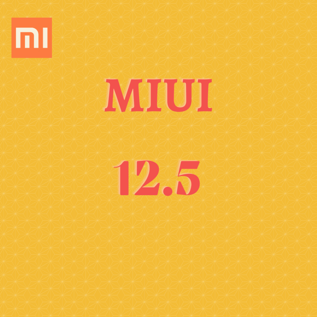 Miui 12.5  Android